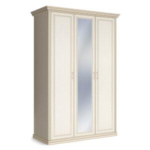 Шкаф 3-х дверный с одним зеркалом Венето
