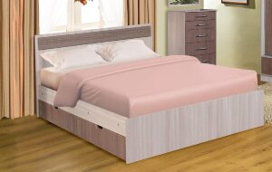 Кровать Юнона с ящиками и с матрасом