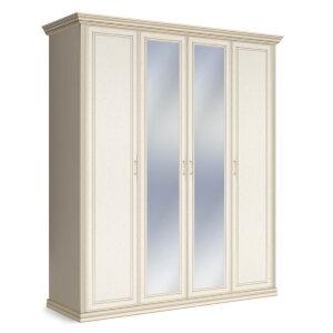 Шкаф 4-х дверный с двумя зеркалами Венето