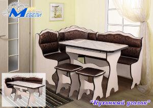 Кухонный угол с простым столом