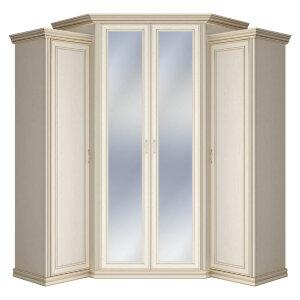 Шкаф угловой с зеркалом Венето