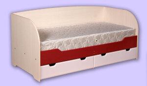 Кровать с ящиками Архимед (А-4) с матрасом