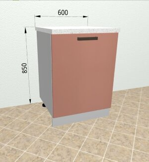 Шкаф нижний С601 Ройс