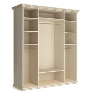 Шкаф 4-х дверный (корпус) Венето