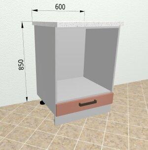 Шкаф нижний духовой СД600 Ройс
