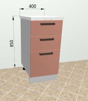Шкаф нижний с ящиками СЯ 400 Ройс