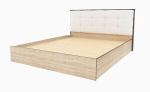 Кровать Лирика ЛК-2 экокожа милк