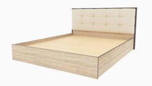 Кровать Лирика ЛК-2 велюр карамель