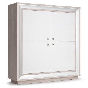 Шкаф 4-х дверный 1364 низкий Прато