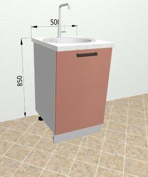 Шкаф нижний под мойку СМ500 Ройс