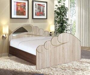 Кровать Жемчуг-1 с матрасом