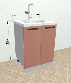 Шкаф нижний под мойку СМ600 Ройс