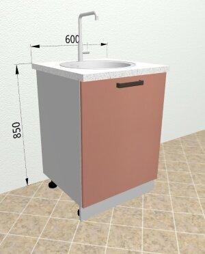 Шкаф нижний под мойку СМ601 Ройс