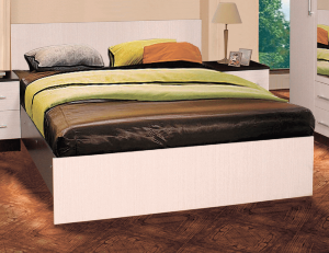 Кровать Николь ЛДСП с матрасом