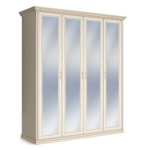 Шкаф 4-х дверный с зеркалами Венето