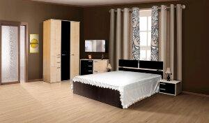 Спальный гарнитур Ивушка с 3-х створчатым шкафом