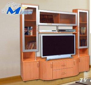 ТВ-стойка-16 в алюминиевом профиле