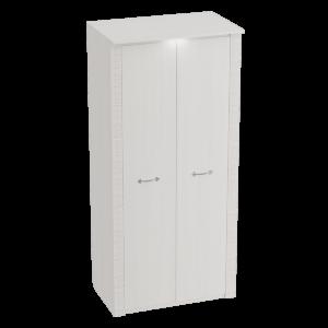 Шкаф двухдверный Элана Бодега белая