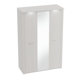 Шкаф трехдверный Элана Бодега белая