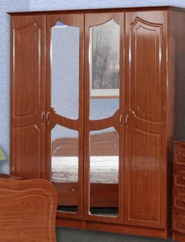 Шкаф 4-х дверный Натали (1,8)