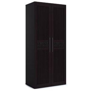 Шкаф 2-х дверный с глухими фасадами Парма венге