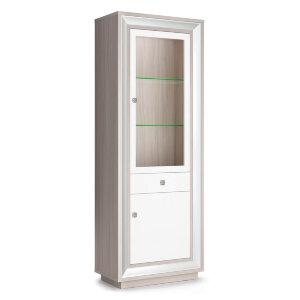 Шкаф 776 (1 стеклодверь, 1 ящик) Прато