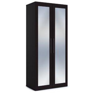 Шкаф 2-х дверный с зеркалами Парма венге