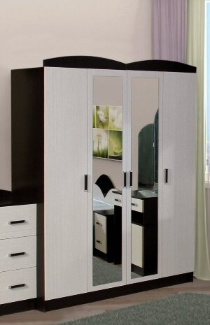Шкаф 4-х створчатый Золушка-1