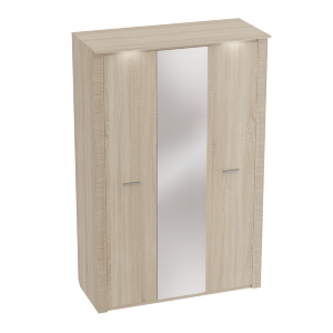 Шкаф трехдверный Элана Дуб сонома