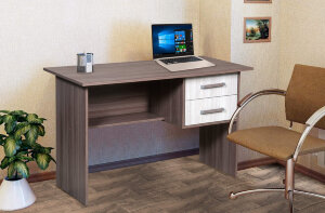 Письменный стол с ящиками-1