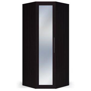 Шкаф угловой с зеркалом Парма венге