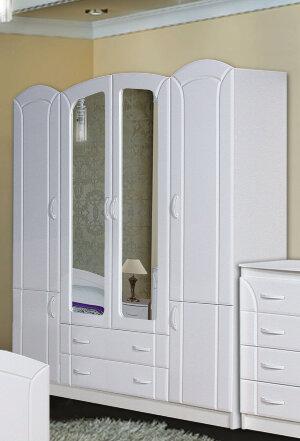 Шкаф 4-х дверный Экстаза (1,8) МДФ
