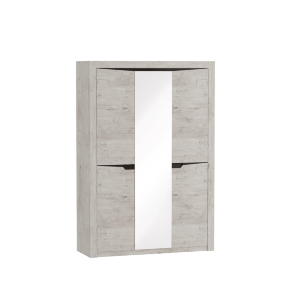 Шкаф 3-х дверный Соренто Дуб бонифаций