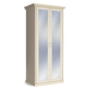 Шкаф 2-х дверный с зеркалом Венето